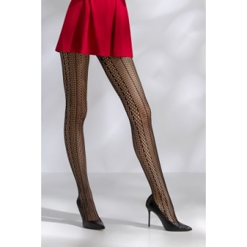 Collants résille TI043 - noir