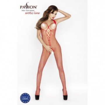 BS014R Bodystocking - Rouge